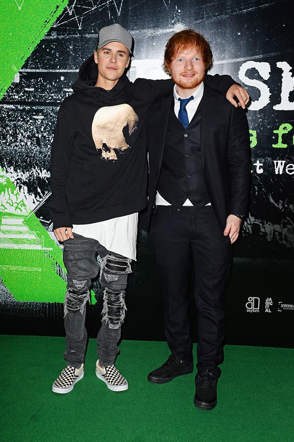 Justin Bieber Ed Sheeran Bromance
