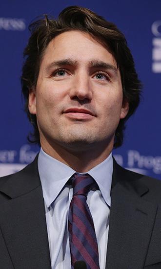 Justin Trudeau Celebrity Profile