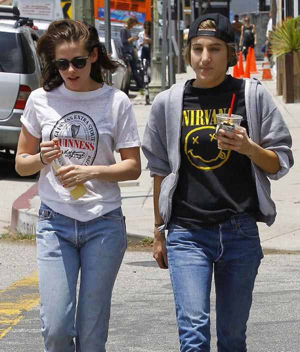 Alicia Cargile Kristen Stewart Split