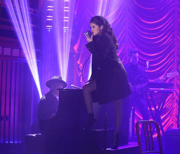 Selena Gomez Tonight Show Performance