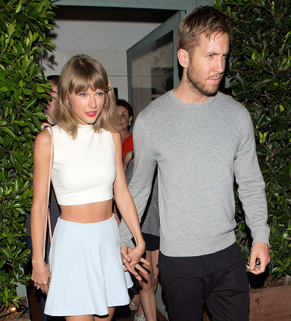 Taylor Swift Calvin Harris Not Engaged She Doesn T Want To Seem Desperate Hollywood Life