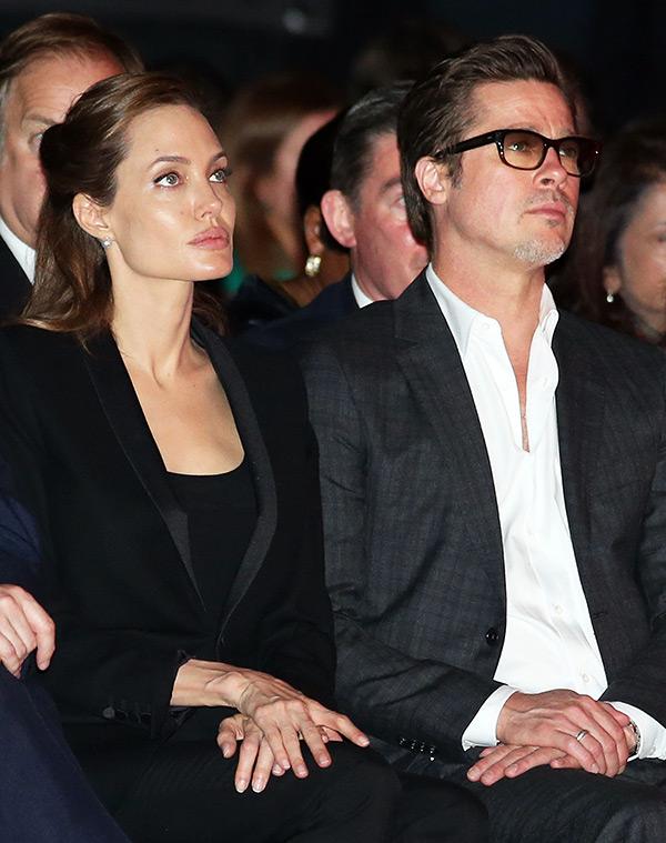 Angelina Jolie Brad Pitt Drive Each Other Mad