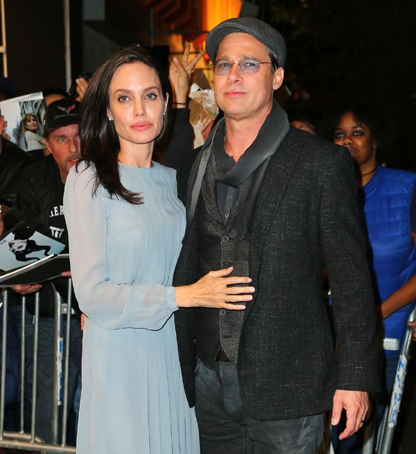 Brad Pitt Angelina Jolie By The Sea Premeire