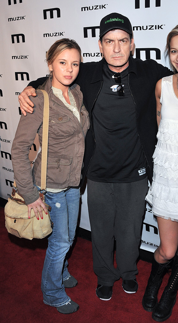 Charlie Sheen Ex Bree Olson HIV