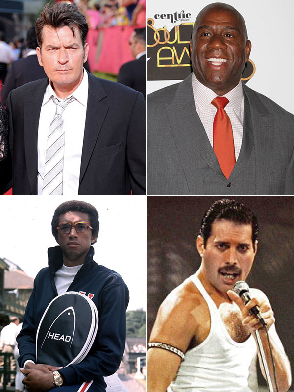 Celebrities With HIV