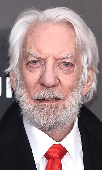 Donald Sutherland Celebrity Profile