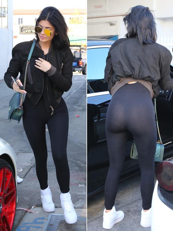 Ass transparent leggings Transparent big