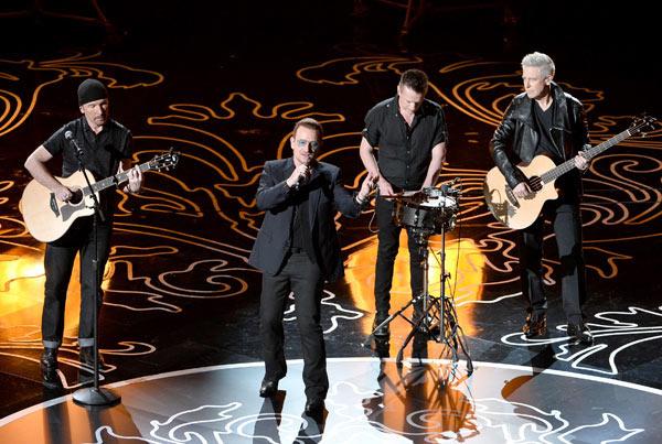 U2 Benefit Concert Paris Attacks