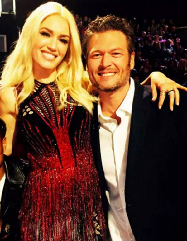 Blake Shelton Gwen Stefani Most Beautiful Woman