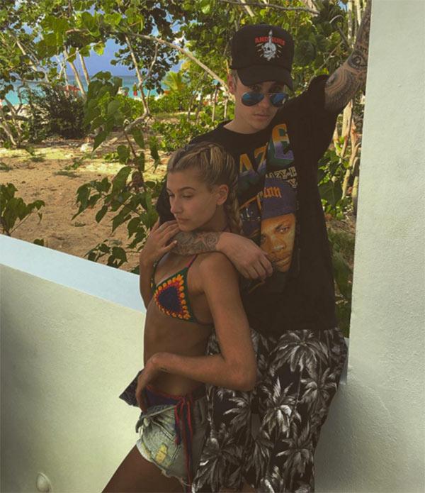 Justin Bieber Hailey Baldwin Pics