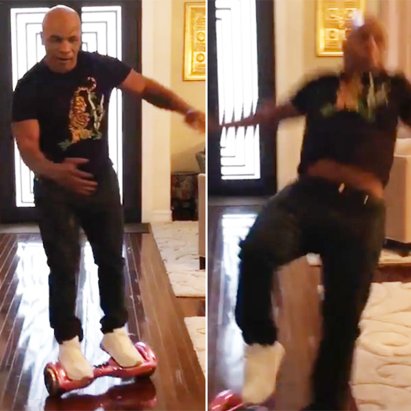 Mike Tyson Hoverboard Video