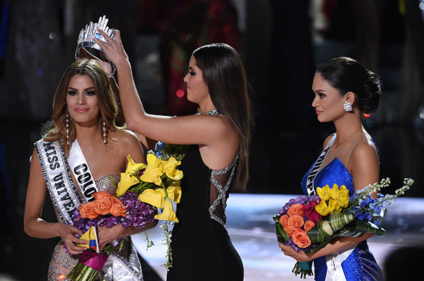 Miss Universe Note Miss Colombia