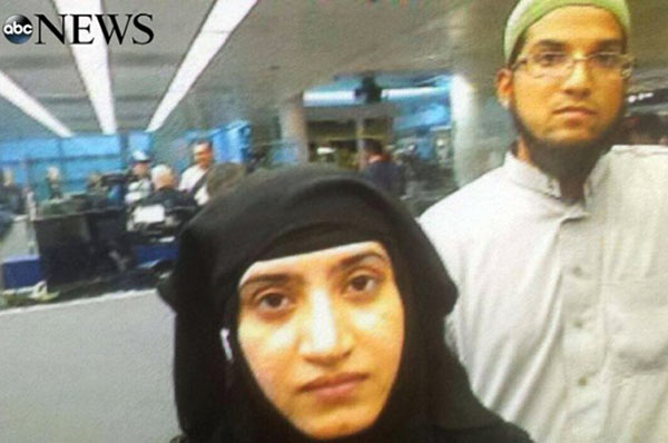 San Bernardino Terrorist Selfie
