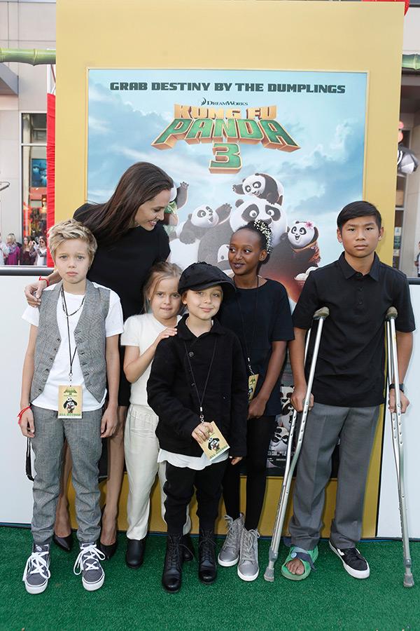 Angelina Jolie Brad Pitt's Kids