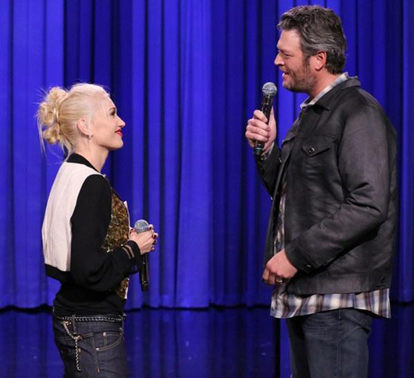 Gwen Stefani Blake Shelton Record Country Music Album