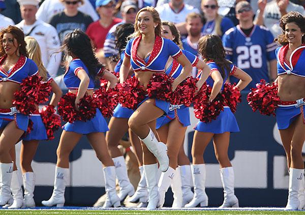 Buffalo Bills Cheerleading Rules