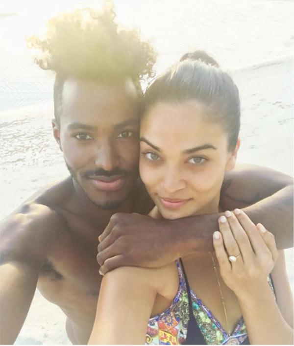 DJ Ruckus & Shanina Shaik Engaged