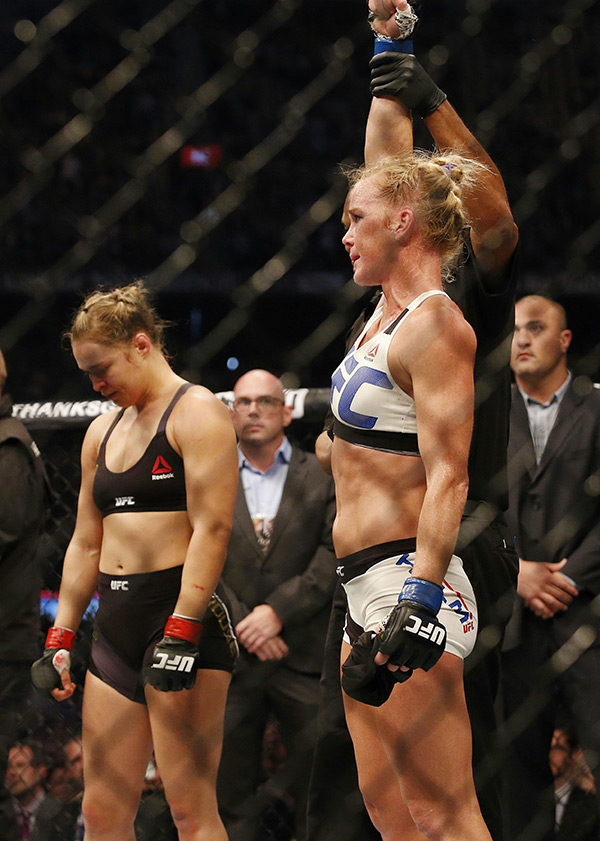 Ronda Rousey Rematch Holly Holm
