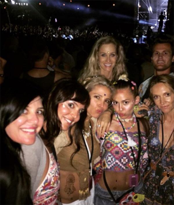 Elsa Pataky Miley Cyrus Together