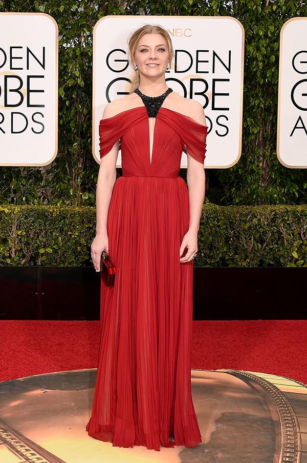 Natalie Dormer Dress Golden Globes
