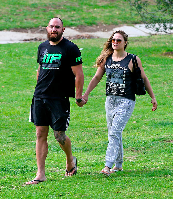 Ronda Rousey Boyfriend Still Married