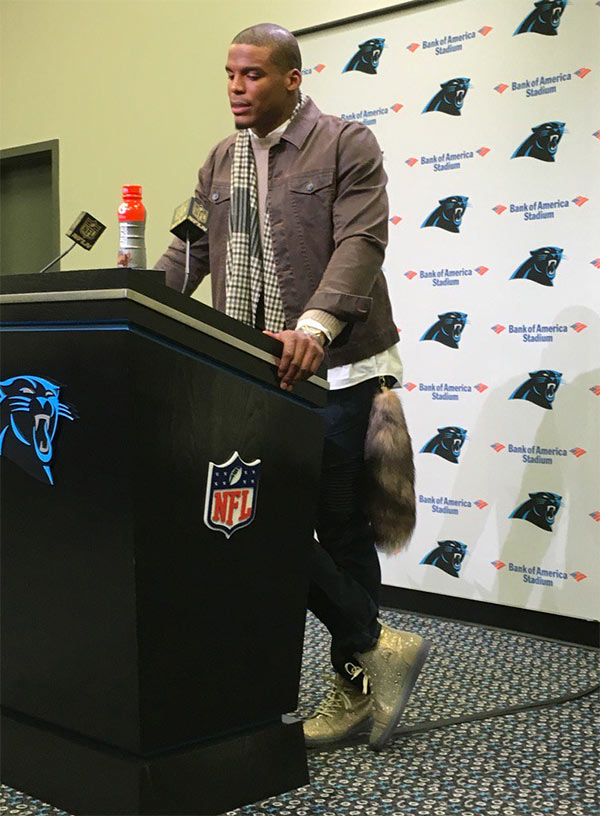 Cam Newton Fashion Sense