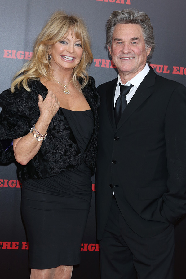 Goldie Hawn Kurt Russell Engaged