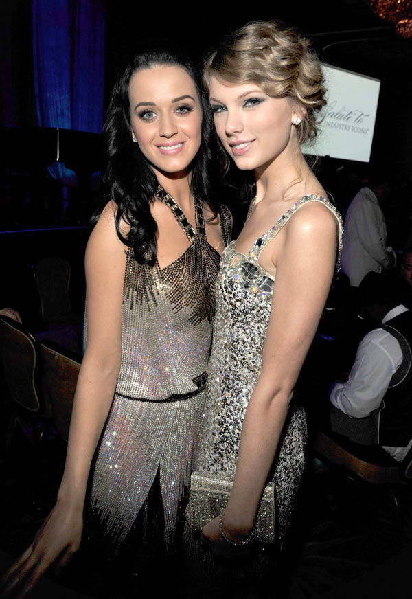 Katy Perry Taylor Swift Feud Over