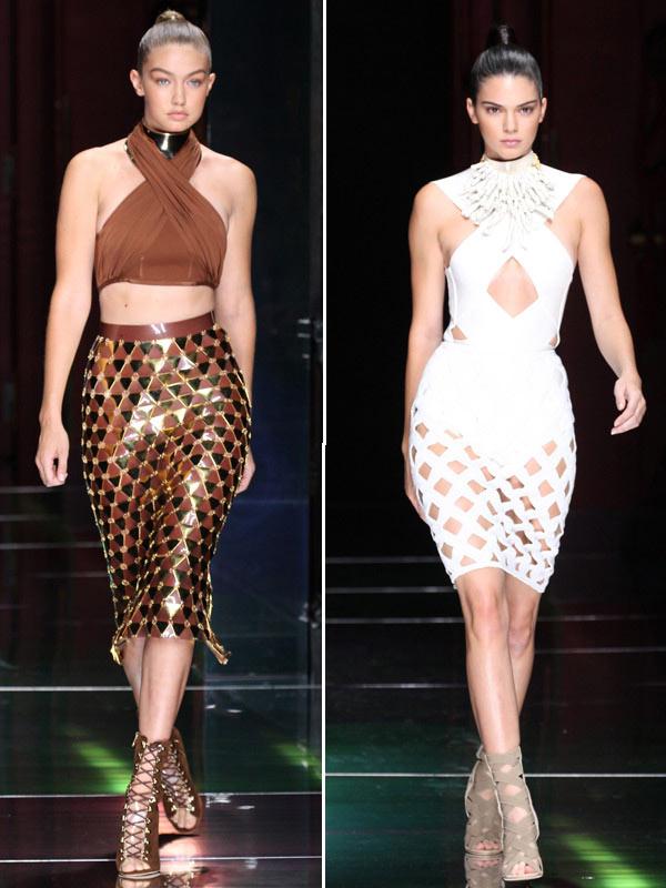 Kendall Jenner Gigi Hadid Modeling