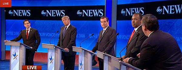 GOP Debate Live Stream