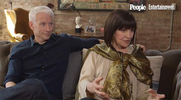 Anderson Cooper Mother Gloria Vanderbilt Lesbian Relationship