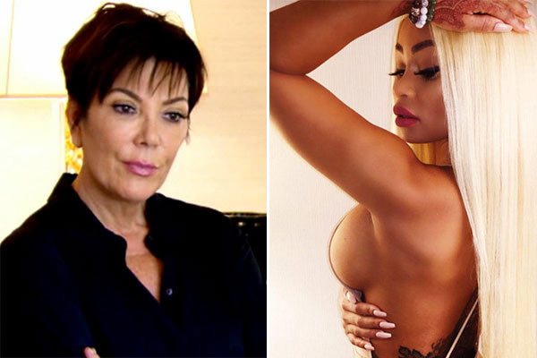 Blac Chyna Kris Jenner Keeping Up With The Kardashians