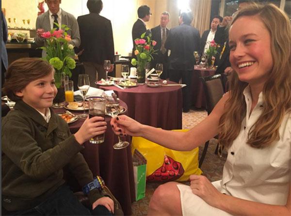 Brie Larson tribute To Jacob Tremblay