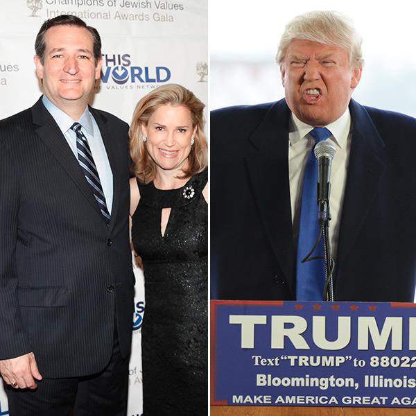 Donald Trump Insults Heidi Cruz Looks