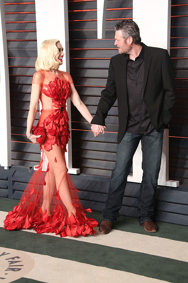 Gwen Stefani Proposal Blake Shelton