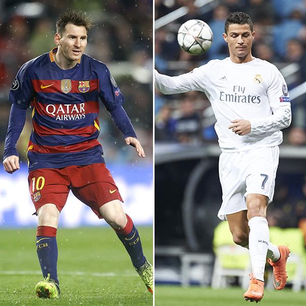 Lionel Messi Cristiano Ronaldo El Clasico Goals