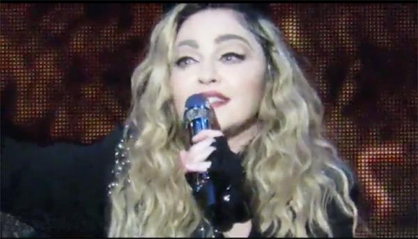 Madonna Concert Meltdown