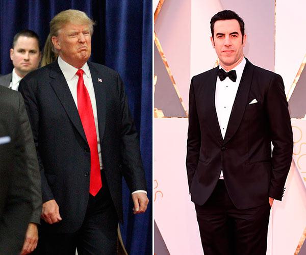 Sasha Baron Cohen Donald Trump AIDS