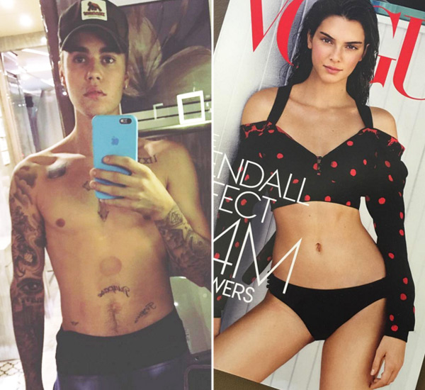 Justin Bieber Calls Kendall Jenner Beautiful