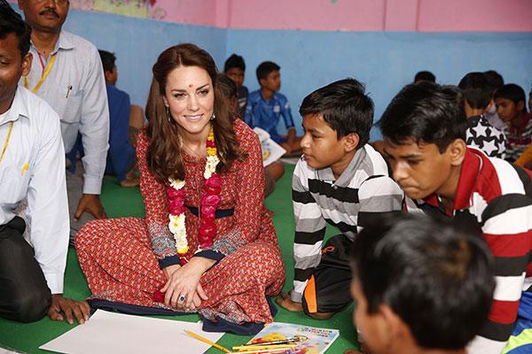 Kate Middleton Kids India
