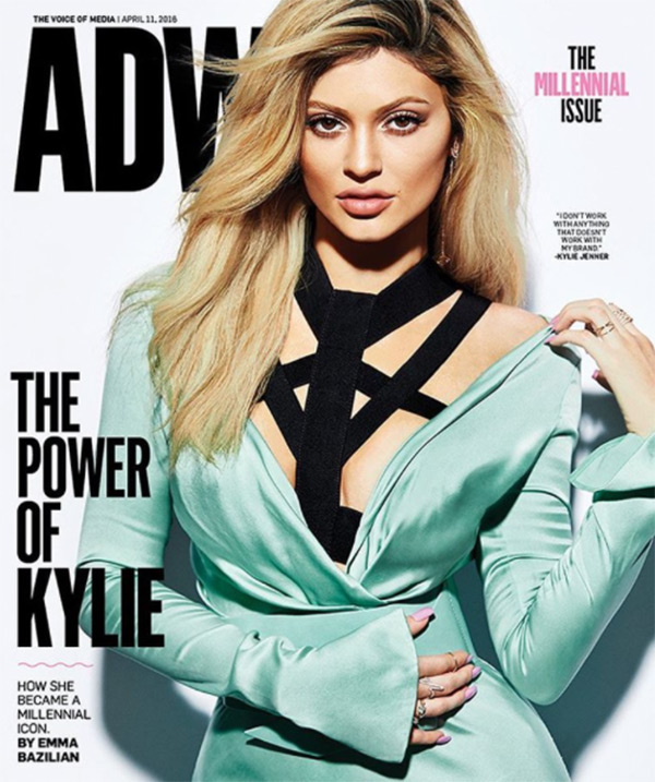 kylie jenner adweek cover