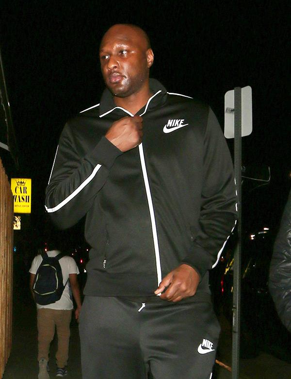 Lamar Odom Partying