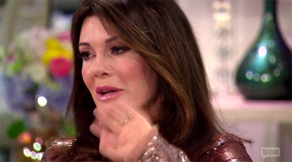 Lisa Vanderpump Cries Over Abusive Ex in RHOBH Reunion