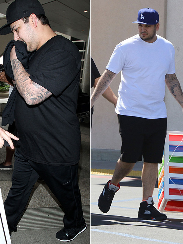 How Much Weight Has Rob Kardashian Lost