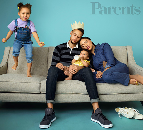 Stephen Curry: Daughter Riley Is The