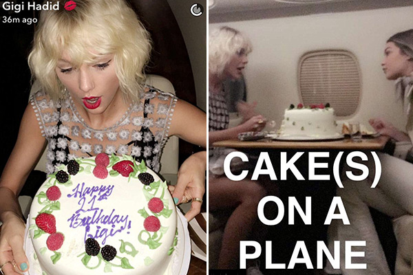 Taylor Swift Gigi Hadid Private Jet