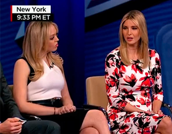Donald Trump Daughters Town Hall