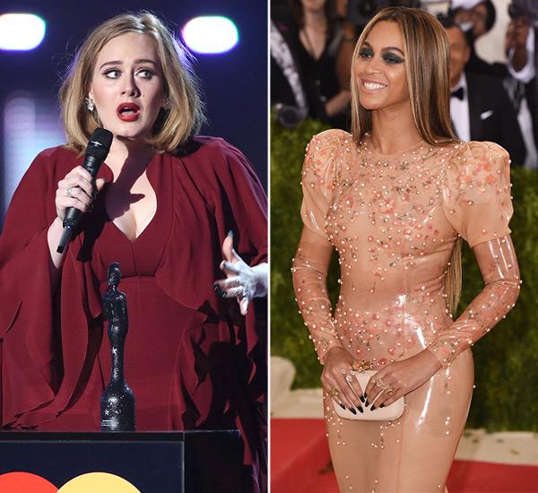 Beyonce Adele Collaborating