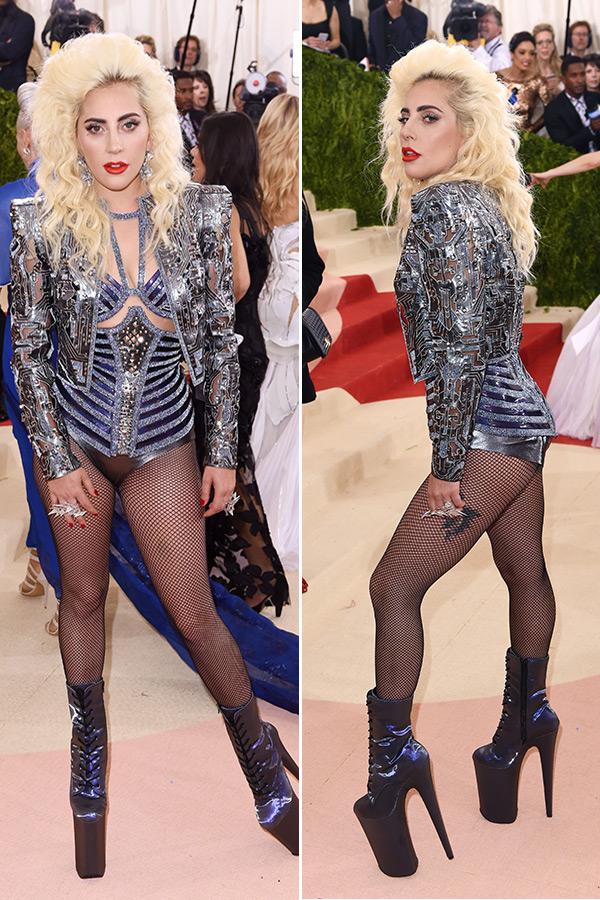 Lady Gaga Dress Met Gala
