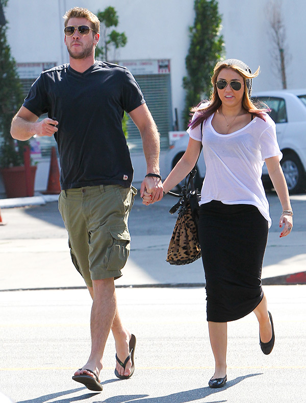 Miley Cyrus Different With Liam Hemsworth